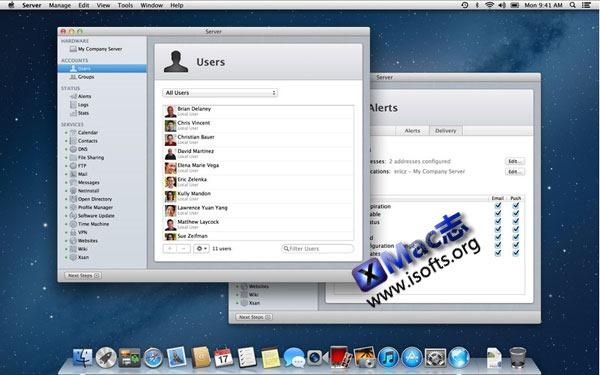 将Mac电脑打造成服务器 : macOS Server