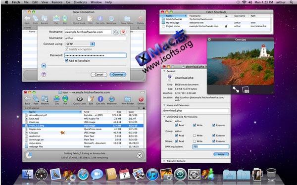 Mac平台的ftp客户端程序 : Fetch