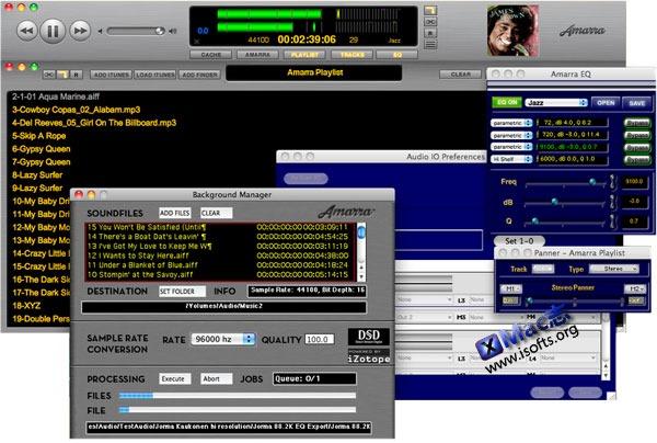 Mac平台的高保真音乐播放器 : Amarra