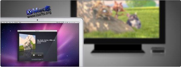 Mac平台支持Airplay的超强视频播放器 : Beamer