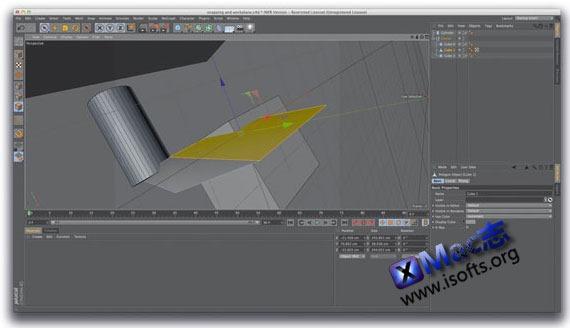 Mac平台的三维绘图建模软件 : Cinema 4D Studio
