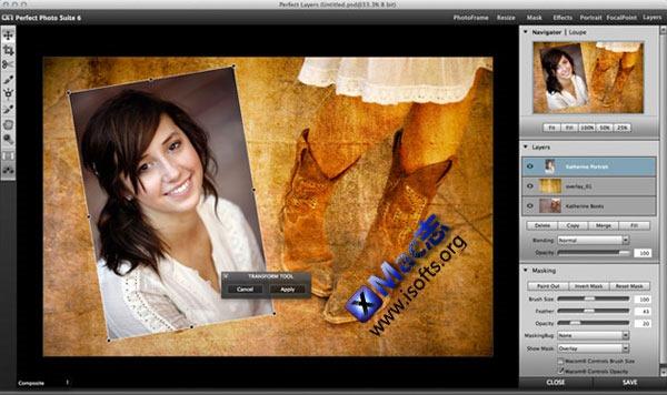 Mac平台的图像处理/插件/滤镜合集 : Perfect Photo Suite