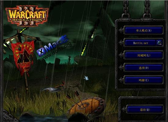 魔兽争霸3(WarCraft III) for Mac : Mac平台的魔兽争霸3