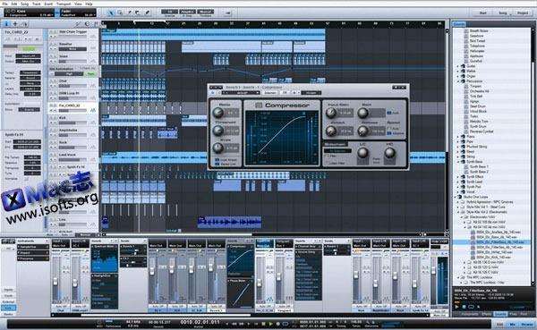 Mac平台的音频工作站 : Presonus Studio One
