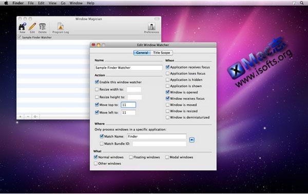 Mac平台的窗口大小及位置自定义增强工具 : Window Magician