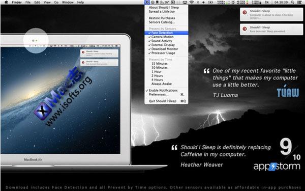 Mac平台的智能化休眠工具 : Should I Sleep