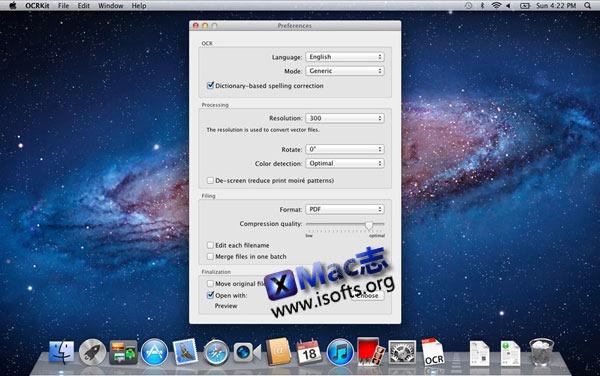 Mac平台的OCR文本识别工具 : OCRKit