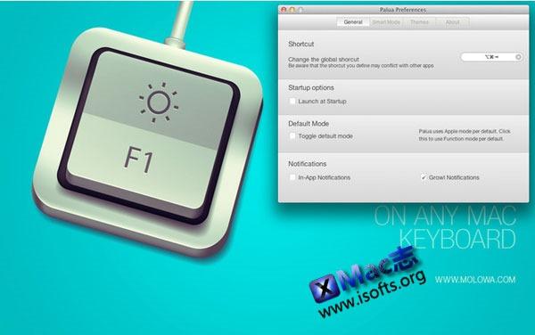 Mac平台的快捷键热键自定义工具 : Palua
