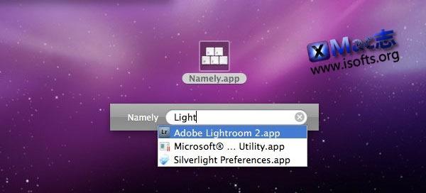 Mac平台的快速启动工具 : Namely