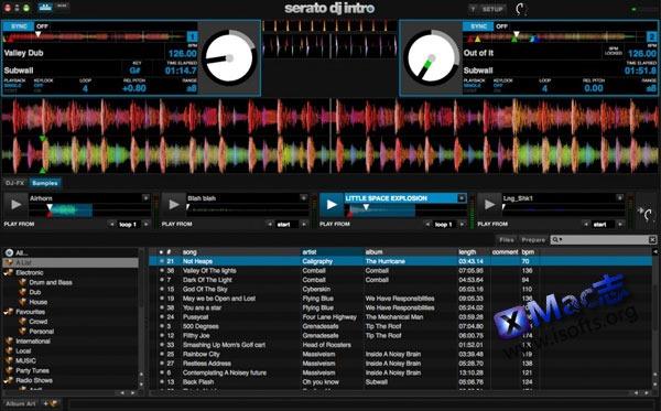 Mac平台优秀的DJ混音软件 : Serato DJ
