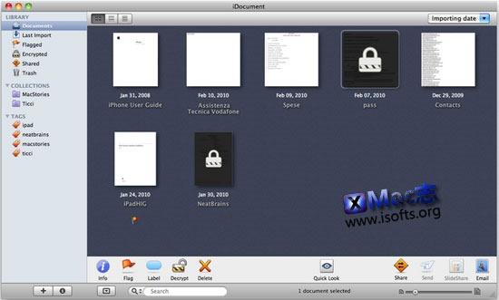 Mac平台超强的文件管理工具 : iDocument