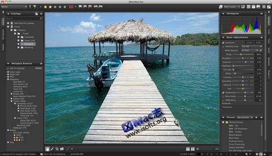 Mac平台强大的数码照片管理处理工具 : Corel AfterShot Pro