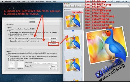 Mac平台的icon图标制作工具 : icns Tool