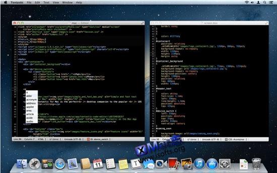 Mac平台的类Notepad++文本编辑器 : Textastic