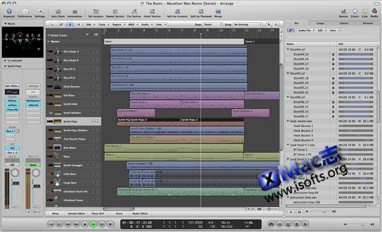 Mac平台强大专业的音频处理工具 : Logic Pro X