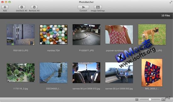Mac平台易用的图像处理及转换工具 : Photo Batcher