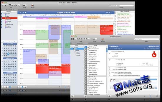 Mac平台专业的事务管理工具 : SOHO Organizer