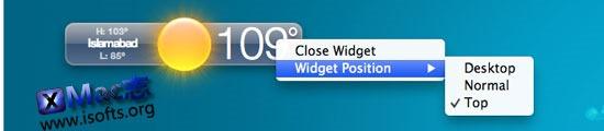为Mac电脑桌面添加Widgets小挂件 : WidgetRunner