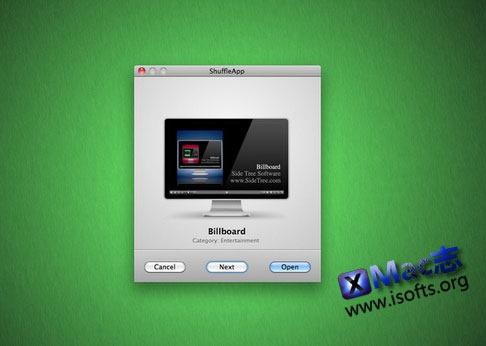 Mac平台随机启动某个应用程序的工具 : ShuffleApp
