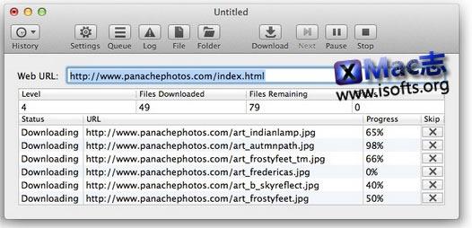 [Mac]离线下载网站网页 : SiteSucker