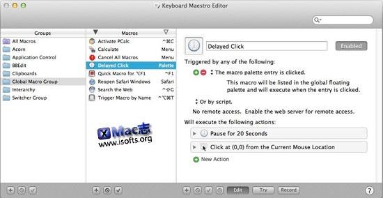 [Mac]快捷键设置及管理工具:Keyboard Maestro