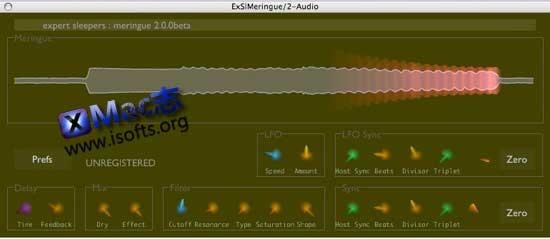 [Mac]模拟音效合成器vsti插件 : Expert Sleepers Meringue