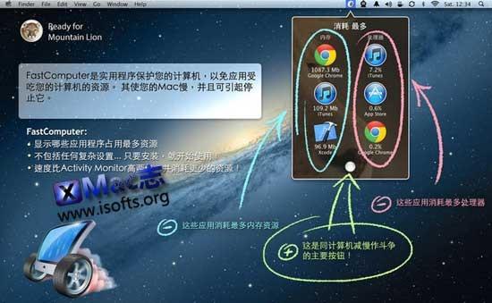 [Mac]系统加速优化工具 : FastComputer
