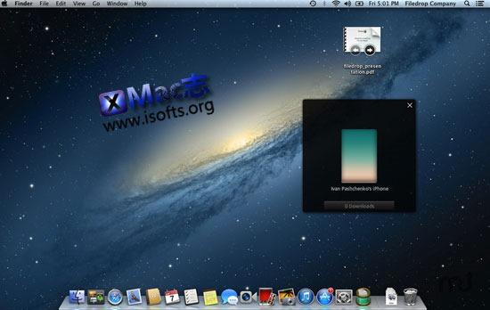 [Mac/iOS]局域网内文件快速分享工具 : Filedrop