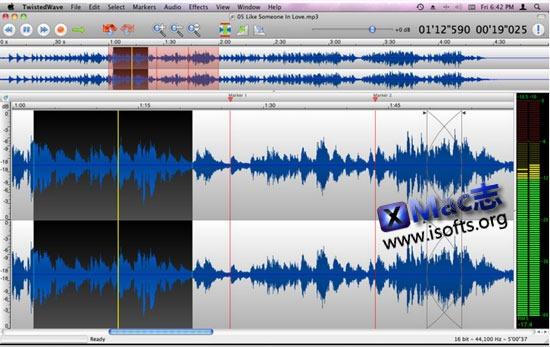 [Mac]音频编辑处理工具 : TwistedWave