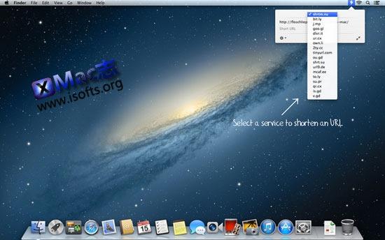 [Mac]整合主流短网址服务的短网址生成工具 : Short Menu