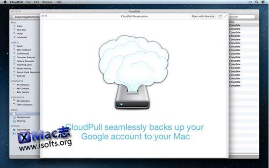 [Mac]将Google服务的数据备份到本地电脑 : CloudPull