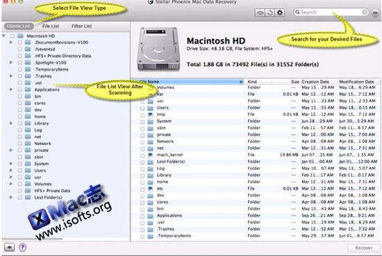 [Mac]专业的数据恢复工具 : Stellar Phoenix Mac Data Recovery