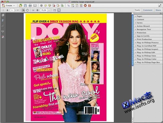 Adobe Acrobat XI Pro for Mac : 最强的PDF编辑处理及转换工具