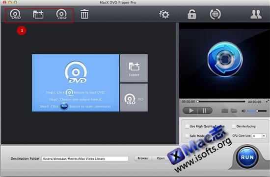 [Mac]dvd视频格式转换工具 : MacX DVD Ripper Pro