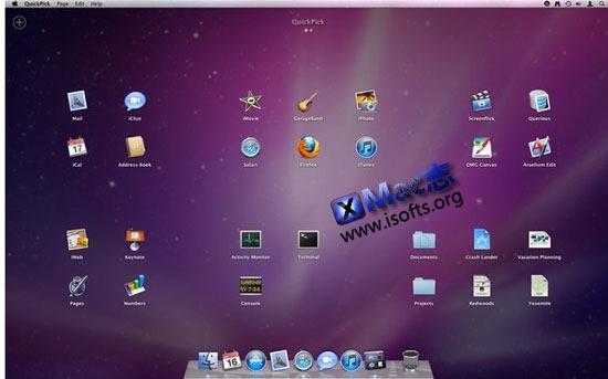 [Mac]应用程序及文件的快速启动工具 : QuickPick