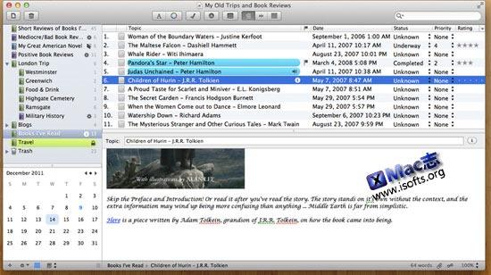 [Mac]博客离线发布及日记工具 : MacJournal