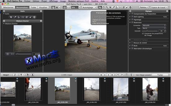 [Mac]专业的图像处理工具 : DxO Optics Pro