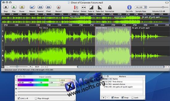 [Mac]音频编辑处理工具 : Sound Studio