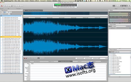 [Mac]专业的拼音编辑处理工具 : SoundForge Pro