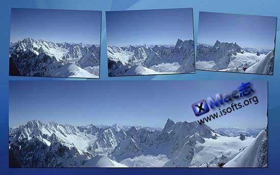 [Mac]超强的全景照片制作工具 : PhotoStitcher