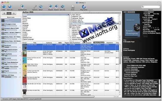 [Mac]个人文件管理工具 : Booxter