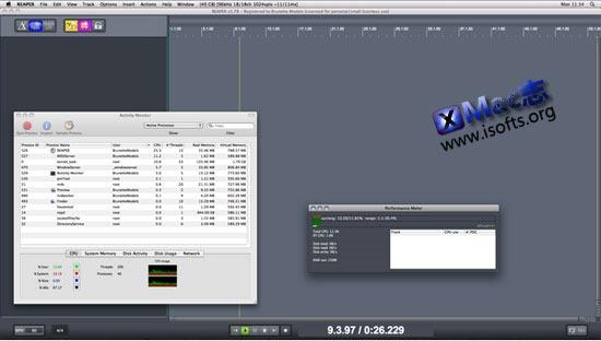 [Mac]专业的音频录制及编辑处理工具 : Cockos REAPER for Mac