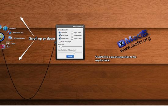 [Mac]增强型快速启动工具栏 : OneDock