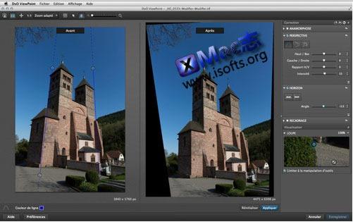 [Mac]专业的照片校正工具 : DxO ViewPoint