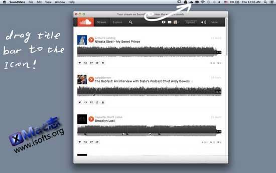 [Mac]SoundCloud桌面客户端 : SoundMate
