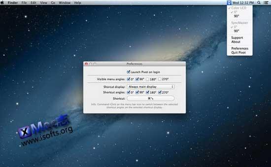 [Mac]屏幕显示快速旋转工具 : Pivot – Display Rotation