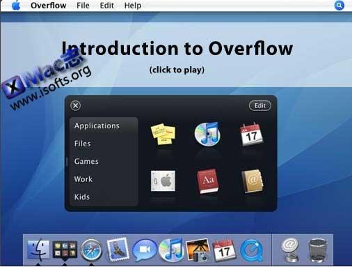 [Mac]应用程序与文件的快速启动工具 : Overflow