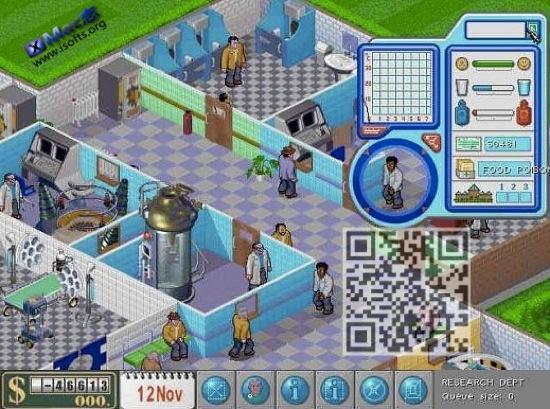 [Mac]Theme Hospital GOG Classic(主题医院) : 模拟经营游戏