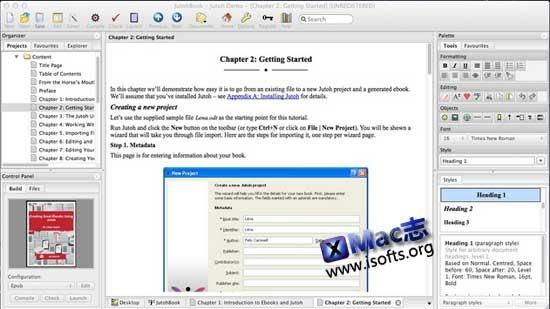 [Mac]电子书制作工具 : Jutoh