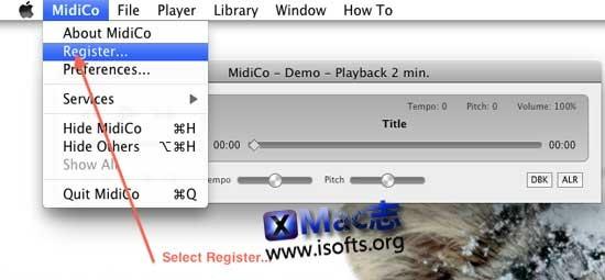 [Mac]卡拉OK播放制作工具 : MidiCo
